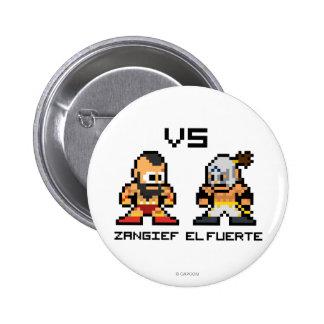 8bit Zangief VS El Fuerte Button