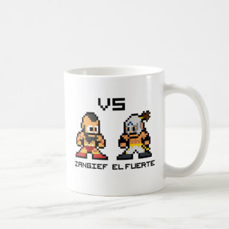 8bit Zangief VS El Fuerte Coffee Mug