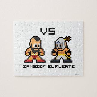 8bit Zangief VS El Fuerte Jigsaw Puzzle