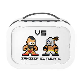 8bit Zangief VS El Fuerte Lunch Box