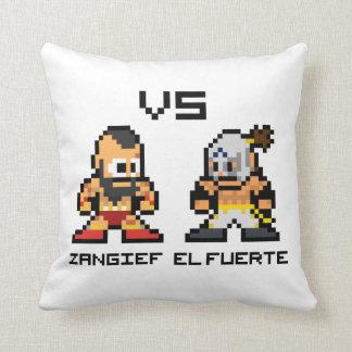 8bit Zangief VS El Fuerte Pillow