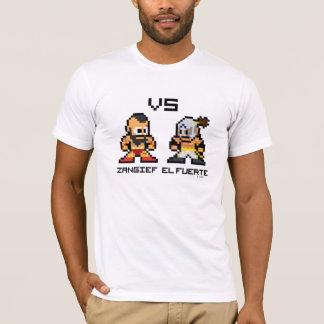 8bit Zangief VS El Fuerte T-Shirt
