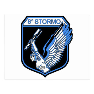 8o Stormo Postcard