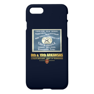 8th & 19th Arkansas Infantry (F10) iPhone 8/7 Case