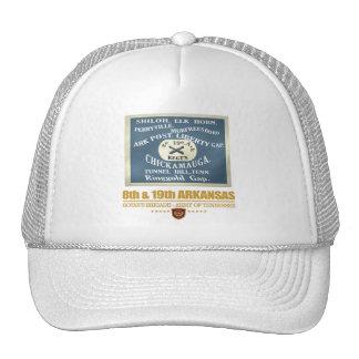 8th & 19th Arkansas Infantry (F10) Trucker Hat