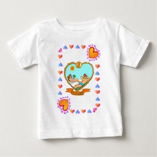 8th Anniversary - bronze Baby T-Shirt