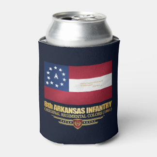 8th Arkansas Infantry (2) Can Cooler