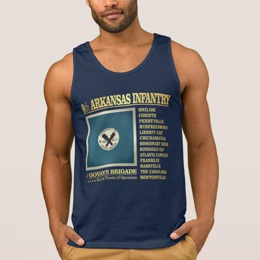 8th Arkansas Infantry (BA2) Tank Tank Tops, Tanktops Shirts