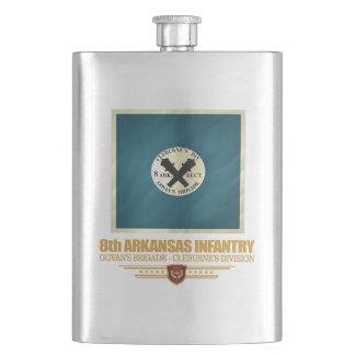 8th Arkansas Infantry Hip Flask