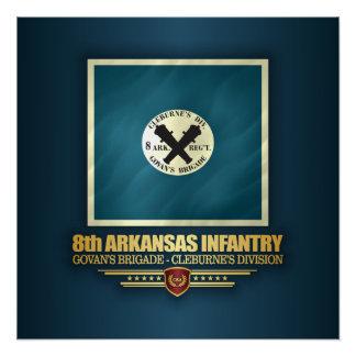 8th Arkansas Infantry Poster