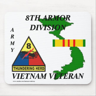 8th Armor Vietnam Mousepad 1/w