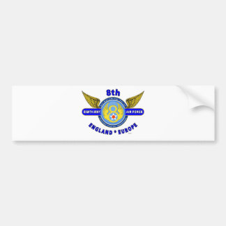 "8TH ARMY AIR FORCE ""ARMY AIR CORPS"" WW II BUMPER STICKER"