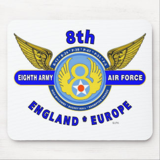 "8TH ARMY AIR FORCE ""ARMY AIR CORPS"" WW II MOUSE PAD"