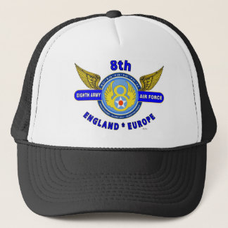 "8TH ARMY AIR FORCE ""ARMY AIR CORPS"" WW II TRUCKER HAT"
