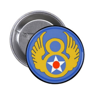 8th Army Air Force Pinback Buttons