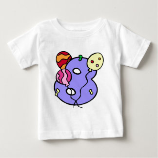 8th Birthday Balloon Gifts Baby T-Shirt