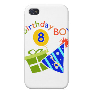 8th Birthday - Birthday Boy Case For iPhone 4