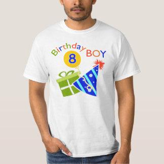 8th Birthday - Birthday Boy Tee Shirts