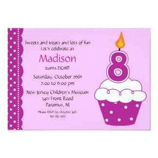Cupcake Birthday Invitations Announcements Zazzle