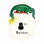 8th Birthday Dragon Acrylic Cut Out