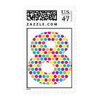 8th Birthday Stamp