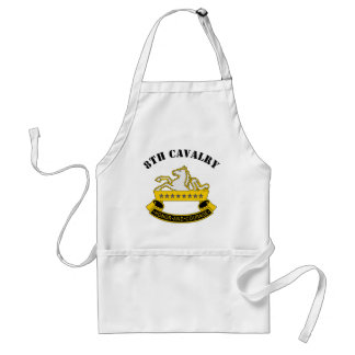 8th Cavalry Division Adult Apron