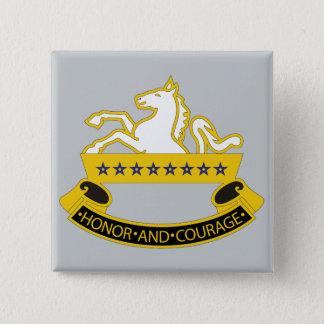 8th Cavalry Division Pinback Button