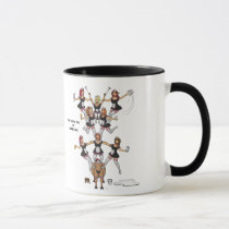 8th Day of Christmas (Eight Maids a-Milking) Mug
