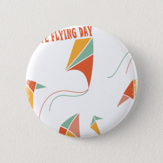 8th February - Kite Flying Day - Appreciation Day Button