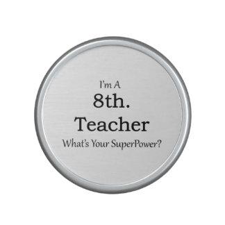 8th. Grade Teacher Bluetooth Speaker
