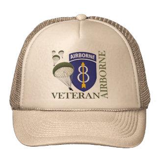 8th Infantry Division Airborne Trucker Hat