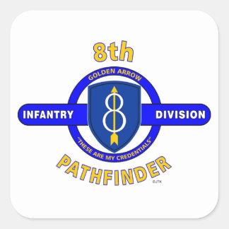 "8TH INFANTRY DIVISION ""PATHFINDER"" STICKER"