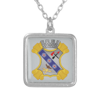 8th Infantry Regiment - DUI Silver Plated Necklace