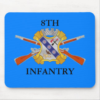 8TH INFANTRY REGIMENT MOUSEPAD