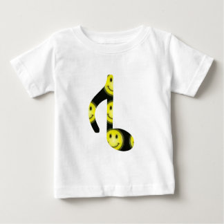 8th Inverted happy face Baby T-Shirt