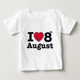 8th  july birthday design baby T-Shirt