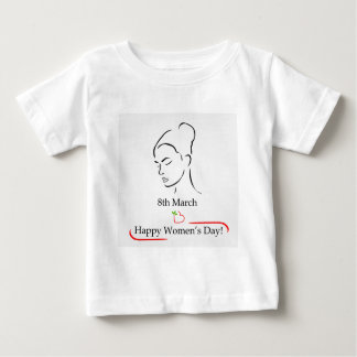 8th March womens day greetings Baby T-Shirt