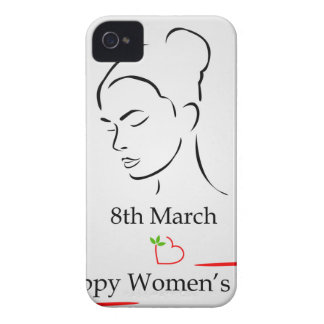 8th March womens day greetings iPhone 4 Case-Mate Case