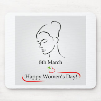 8th March womens day greetings Mouse Pad