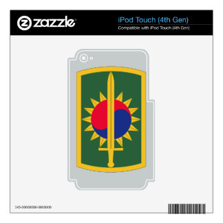 8th Military Police Brigade Decal For iPod Touch 4G
