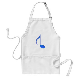 8th Musical Note Reversed Large Created 2010 Adult Apron