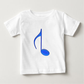 8th Musical Note Reversed Large Created 2010 Baby T-Shirt