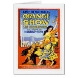 8th National Orange Show 1918 Greeting Cards