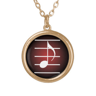 8th note 2 necklaces