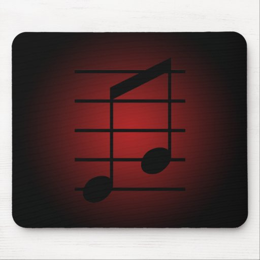 8th note 3 mousepad