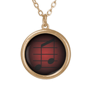 8th note 3 personalized necklace