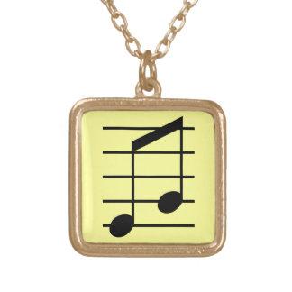 8th note 3 pendant
