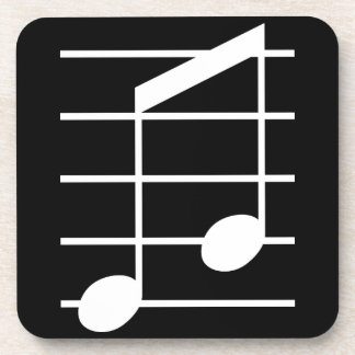 8th note 4 drink coasters