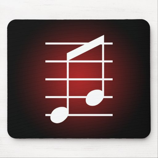 8th note 4 mousepad