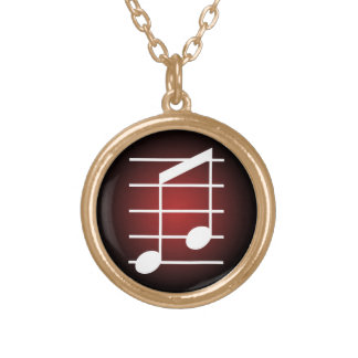 8th note 4 personalized necklace